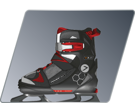 V1.0 TEK ADJUSTABLE SKATES